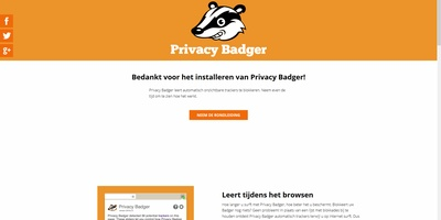 Een das die over je privacy waakt