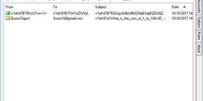 PopTray - Ongewenste mail weggooien voor het op je pc komt