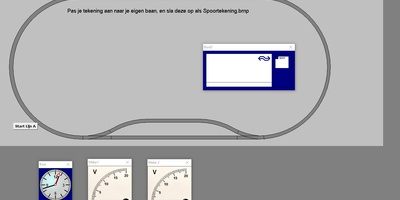 StoomspoorExpress - Stuur een modelspoorbaan aan