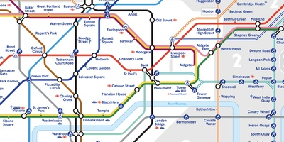Tube Map - De moeder aller metro's in kaart