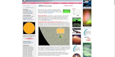 Spaceweather - Al het weer waarover Gerrit Hiemstra u niet vertelt