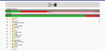 Files to SD Card - Verplaats data naar een sd-kaart op Android
