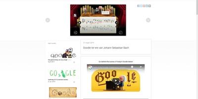 Google Doodle Bach - Kunstmatige intelligentie componeert in de stijl van Bach