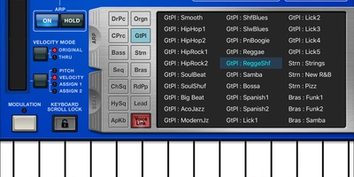 Synthesizer, Arpeggiator & Drum Pad - Muziekaal op de pc