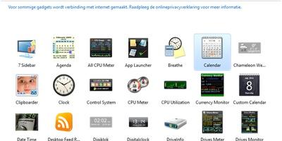 8GadgetPack - Fleur uw bureaublad op met gadgets