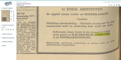 Delpher - Oude kranten bekijken