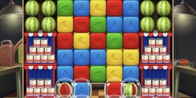 Toon Blast - Een kleurrijk drie-op-een-rij-spelletje