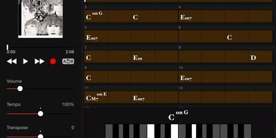 Chord Tracker - Vind de akkoorden van uw favoriete nummers