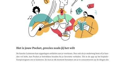 Pocket - Benader interessante content uit allerlei bronnen vanaf een centrale locatie
