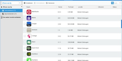 Apowersoft Phone Manager - Beheer je iPhone of Android-smartphone