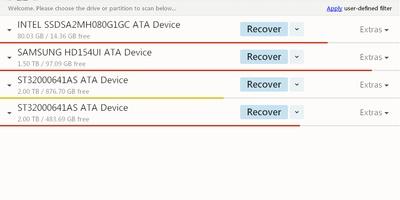 Disk Drill - Haal gewiste bestanden terug, ook de lastige