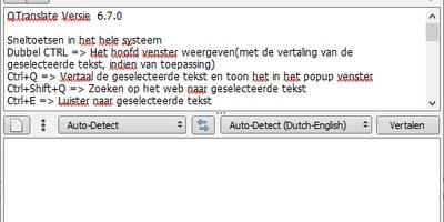 QTranslate - Snel een vertaling vinden voor gemarkeerde teksten