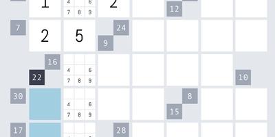 Kalkuro Endless - Mix van kruiswoord en sudoku