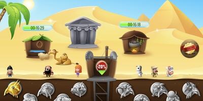 Diggy's Adventure - Baan je een weg door Egyptische graftombes