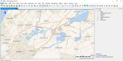 Ok Map - Bekijk zowel online als lokale kaarten