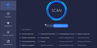 Advanced System Care Free - Een schone en opgeruimde pc