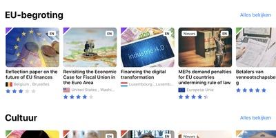 Citizens' App - Wat doet de EU eigenlijk?