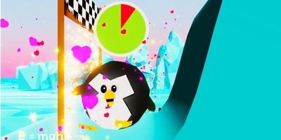 Potential Penguin - Glij met de pinguïn naar de finish