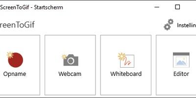 ScreenToGif - Leg schermactiviteit vast als geanimeerd gif-bestand