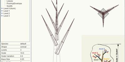 Arbaro - Maak eenvoudig bomen voor 3d-projecten