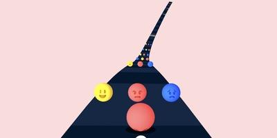 Color Road - Botsen of ontwijken? Je moet snel beslissen
