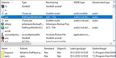 FileTypesMan - Welke bestandsextensies kent jouw systeem?