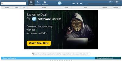 FrostWire - Torrentclient met zoekmachine