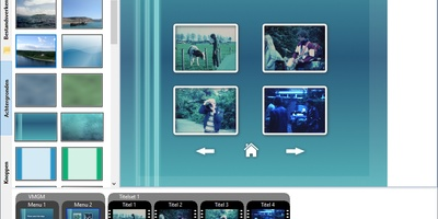 DVDStyler - Complexe dvd-menu's maken