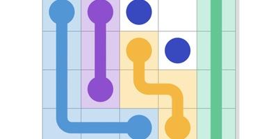 Puzzle Game - Verbind de stippen maar raak niet in de knoop