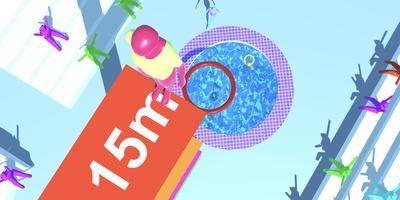 Purple Diver - Neem een frisse duik in een klein badje