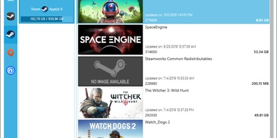 Steam Library Manager - Beheer centraal games van Steam, Origin én Uplay