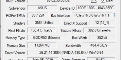 GPU-Z - Houd het wel en wee van de grafische kaart in de gaten