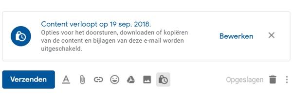 Zo werkt de vertrouwelijke modus in Gmail
