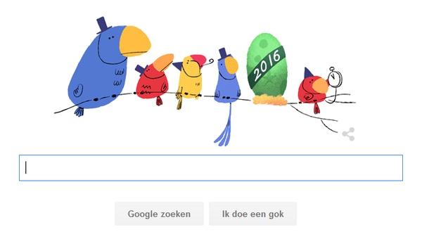 Oudejaarsavond 2015 (bijna) uitgebroed door Google