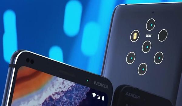 Nokia 9 PureView met 5 camera's gespot