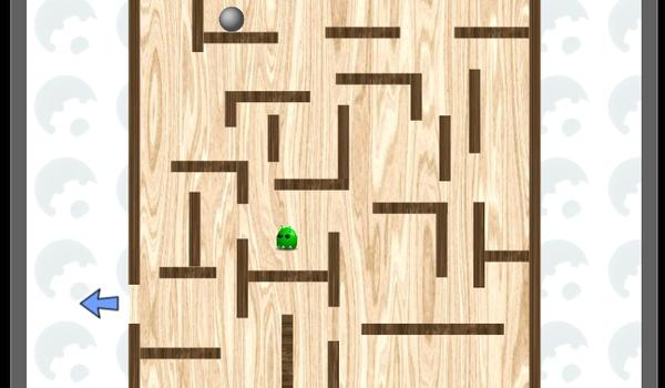 Labyrinth - Stuur een balletje door het doolhof