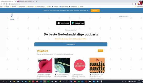 Podcasts zoeken