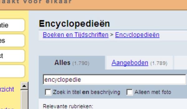 Internet en het einde van de encyclopedie