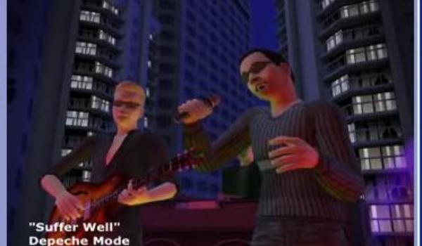 Depeche Mode neemt nummer op in Sims-taal
