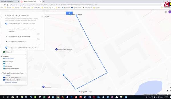 Eigen stedengids maken met Google My Maps 2