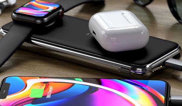 Quatro Wireless Power Bank laadt alle Apple-gadgets op