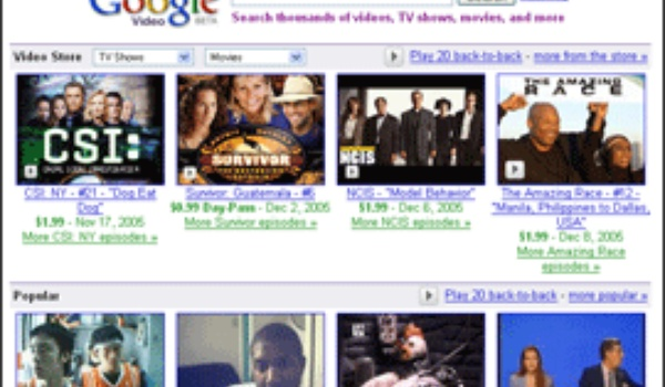Google verbetert Google Video