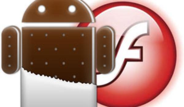 Android 4 krijgt Flash 11.1