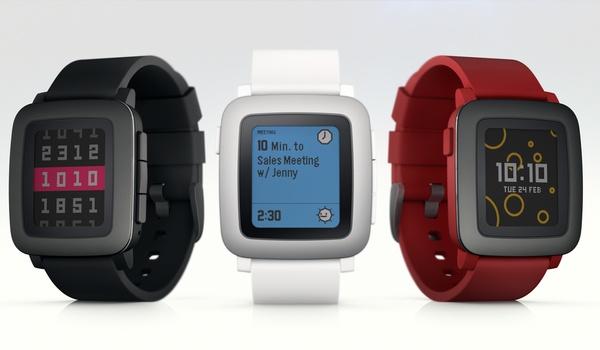 Pebble kondigt nieuwe smartwatch Pebble Time aan