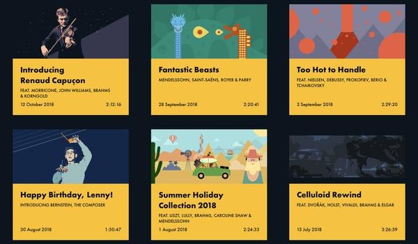 Grammofy - Geniet meer van klassieke muziek op Spotify