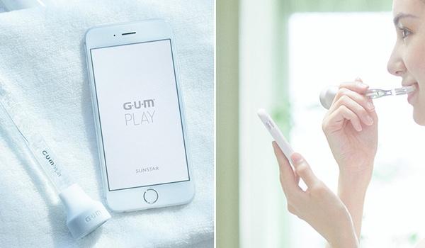 Slimme tandenborstel 'GUM Play' leest het nieuws voor