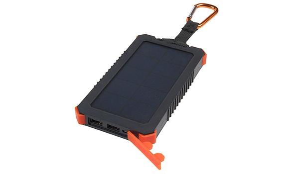 Xtreme Solar Charger-powerbank heeft geen stopcontact nodig