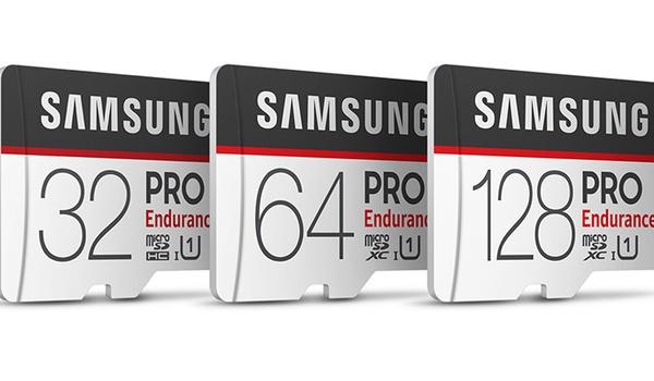 Samsung PRO Endurance-kaartjes goed geschikt voor dashcams