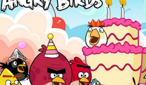 Angry Birds viert verjaardag met 30 nieuwe levels