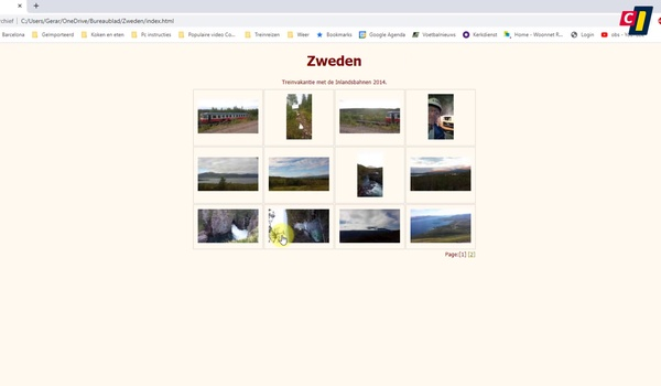 Fotogalerij maken met Web Album Generator